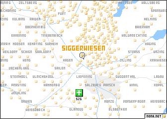 map of Siggerwiesen