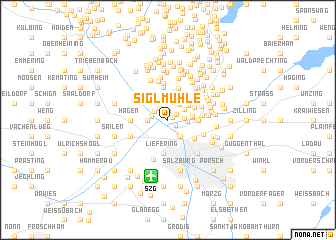 map of Siglmühle
