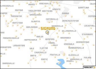 map of Sigmund