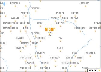 map of Sigon