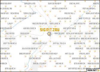 map of Sigritzau