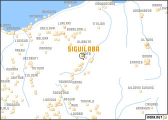 map of Siguilaba