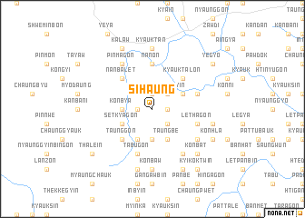 map of Sihaung