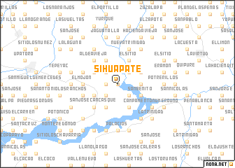 map of Sihuapate
