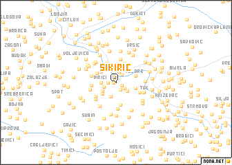 map of Sikirić