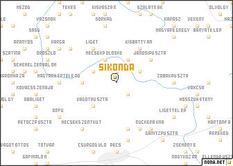 map of Sikonda