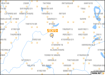 map of Sikwa