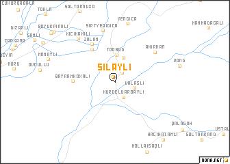map of Silǝyli