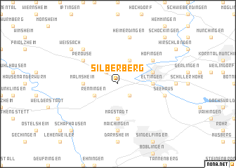 map of Silberberg