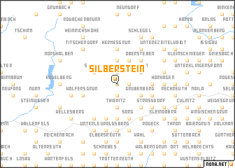 map of Silberstein