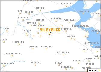 map of Sileyevka