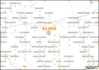 map of Silheim