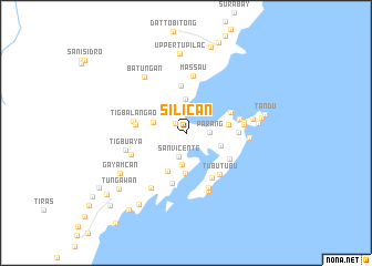 map of Silican