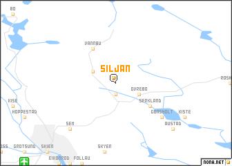 map of Siljan