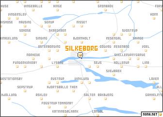 Silkeborg (Denmark) map - nona.net
