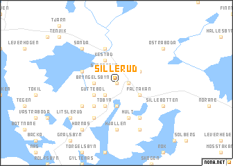 Sillerud Sweden Map Nonanet - Sweden map varmland