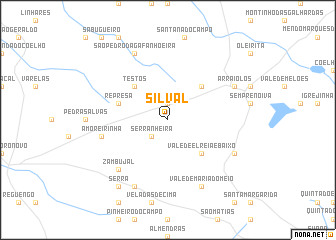 map of Silval