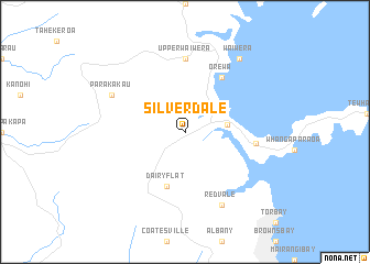 map of Silverdale