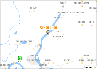 map of Simalhka
