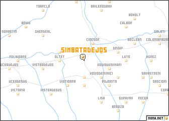 map of Sîmbăta de Jos