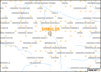 map of Simbulon