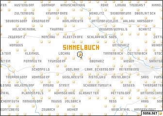 map of Simmelbuch