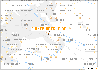 map of Simmeringer Heide