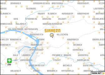 map of Simmern