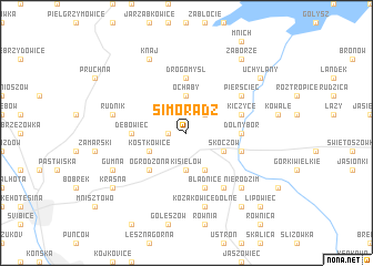 map of Simoradz