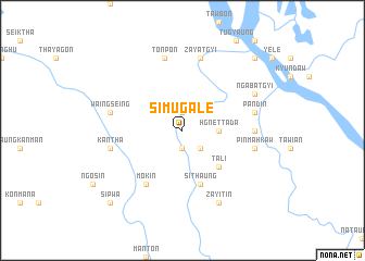 map of Simugale