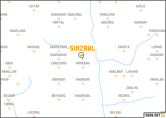 map of Simzawl