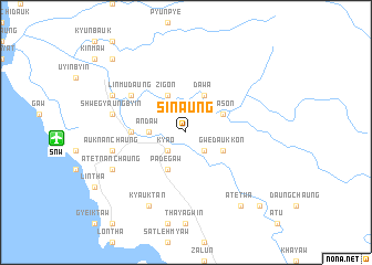 map of Sinaung