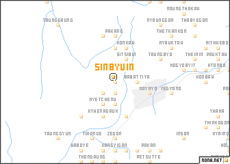 map of Sin-byu-in