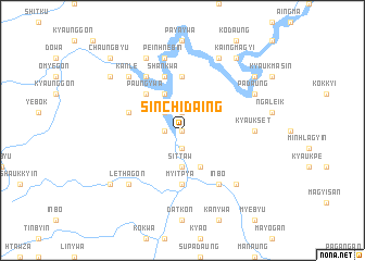 map of Sinchidaing