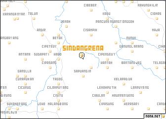 map of Sindangrena