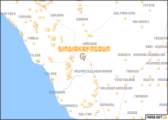 map of Sindia Kafngoun