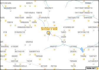 map of Sindiywa