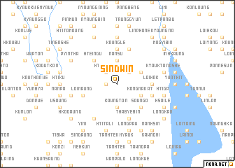 map of Sindwin