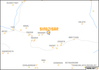 map of Sindzisar