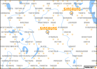 map of Singaung