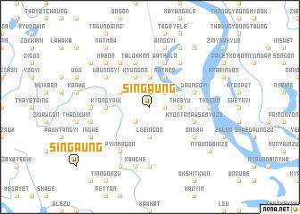 map of Singaung