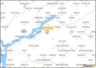 map of Si-ngin