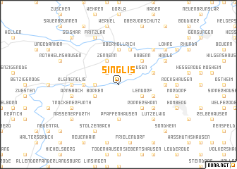 map of Singlis