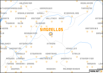 map of Singréllos