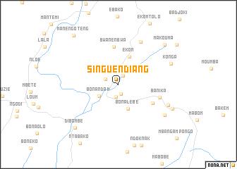map of Singuéndiang