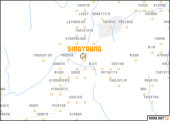 map of Sin-gyaung