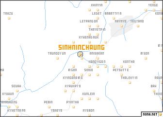 map of Sin-hnin-chaung