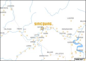 map of Sinicquing