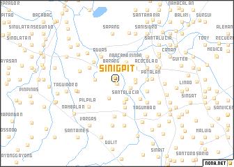 map of Sinigpit