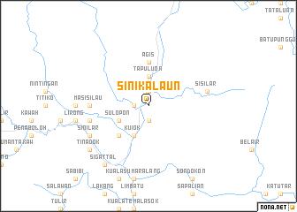 map of Sinikalaun